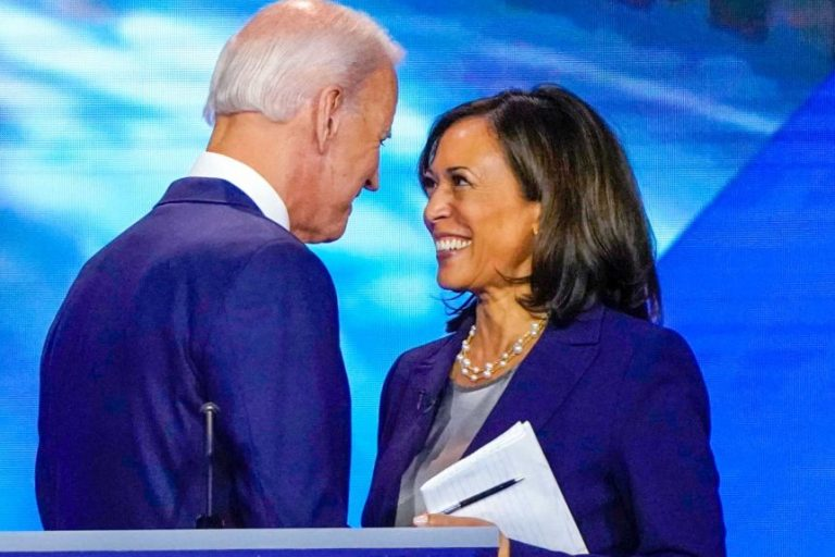 """Harris, First Vice President of the US: """"I will be the first woman in this position, but not the last."""""""
