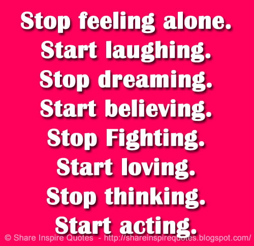 How to stop dreaming and start acting