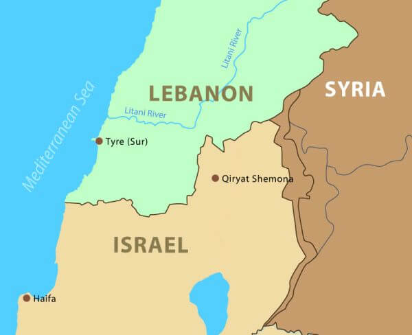 Israel is asking the Lebanese president to hold direct talks about the sea border
