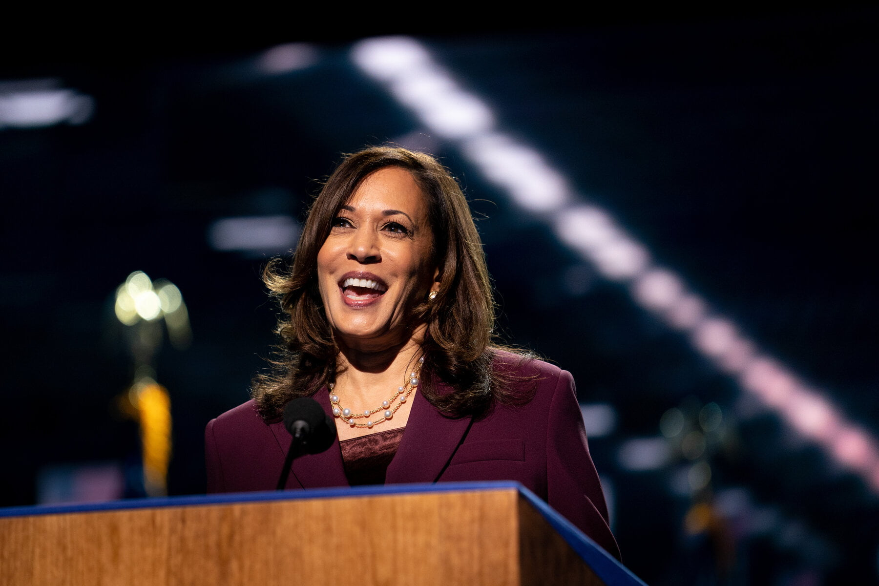 Kamala Harris makes history as America's first female vice president