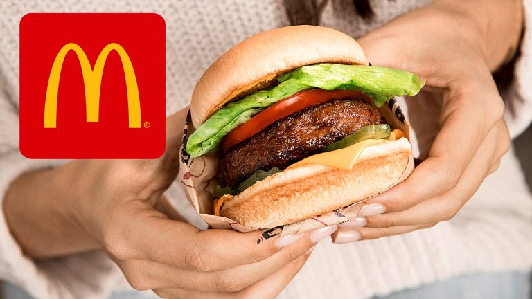 McDonald's announces that it will also sell a meatless burger