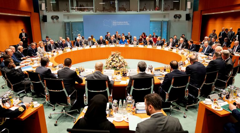 Military delegations from the parties meet in Libya for the first time to discuss the ceasefire