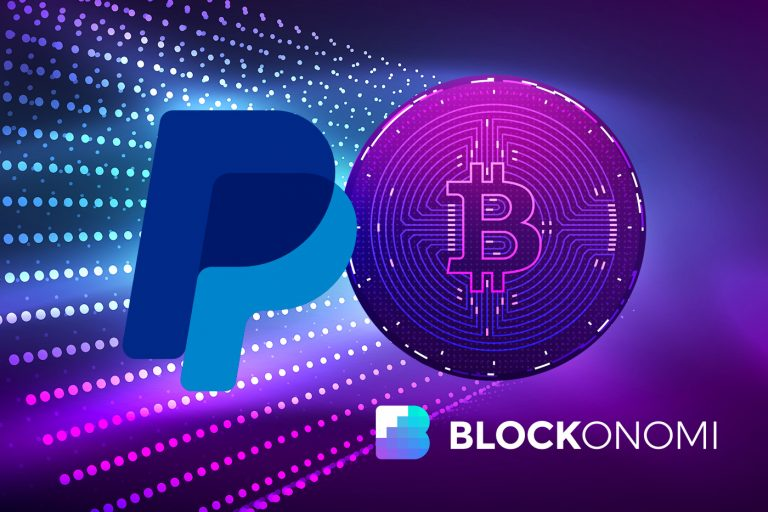 PayPal has blocked a user's account for trading cryptocurrencies via PayPal's own service