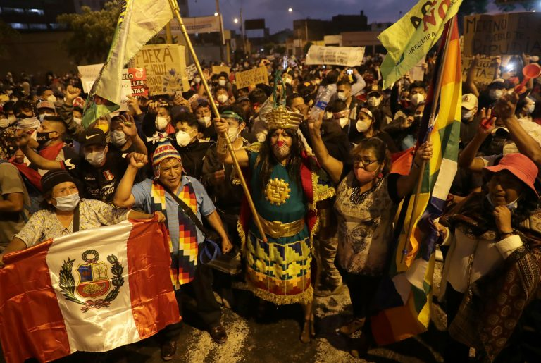 Peruvian President Manuel Merino resigns from office amid protests