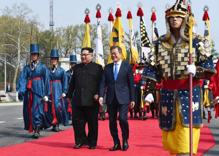 South Korea is holding a North Korean who has crossed the border