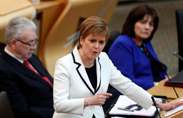 Sturgeon promises a new independence referendum after the Scottish elections in May