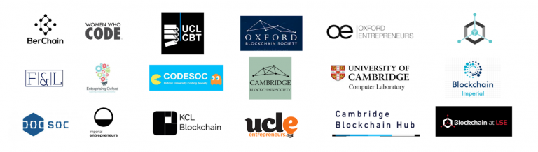 The Cambridge and Oxford teams take part in the algorithmic crypto trading competition