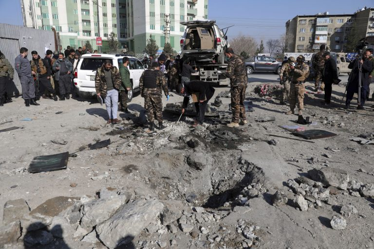 At least 10 dead and 52 injured in car bomb attacks in the Afghan capital
