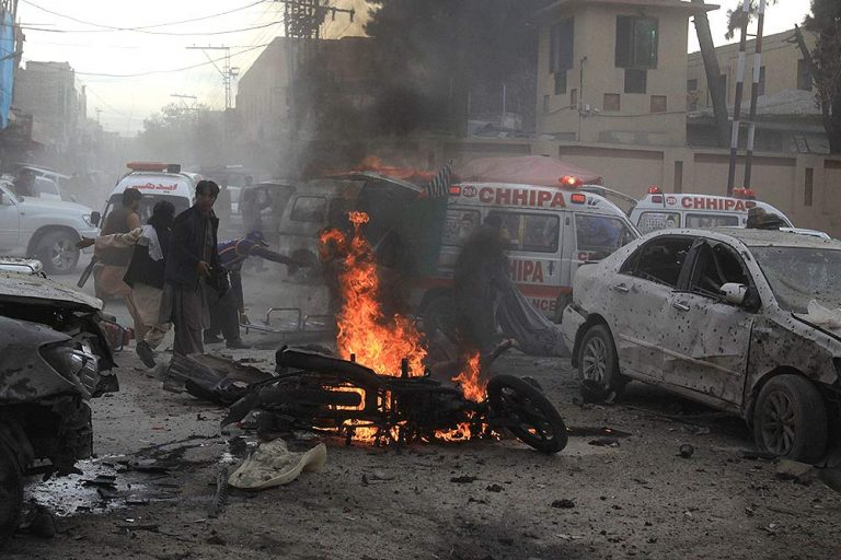 At least five civilians were killed and two injured in a car bomb explosion in the capital of Afghanistan