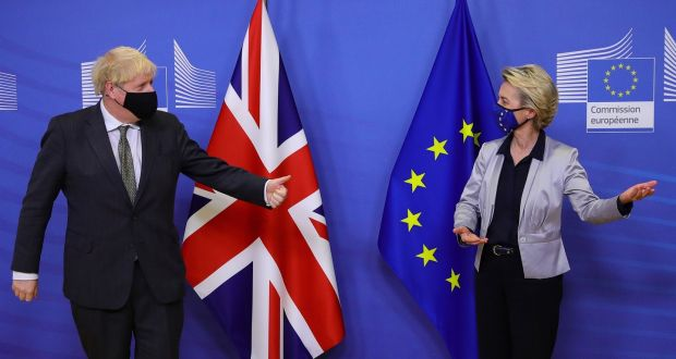 Brussels offers contingency plans for aviation and fisheries for the first few months when the Brexit negotiations fall