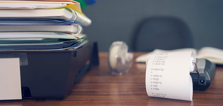 How do you organize your finances at the end of the year?
