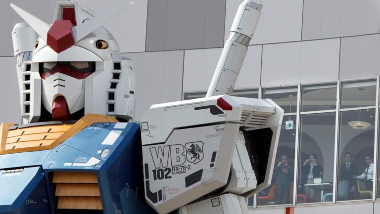 Japan's giant robot, inspired by the Gundam series, is ready