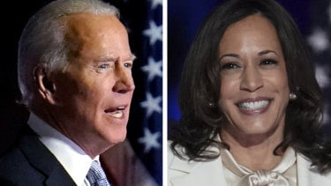 """Kamala Harris and Joe Biden were named """"Person of the Year 2020"""" by TIME Magazine"""