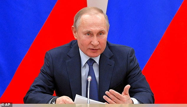 Putin promises immunity law for former presidents and their families