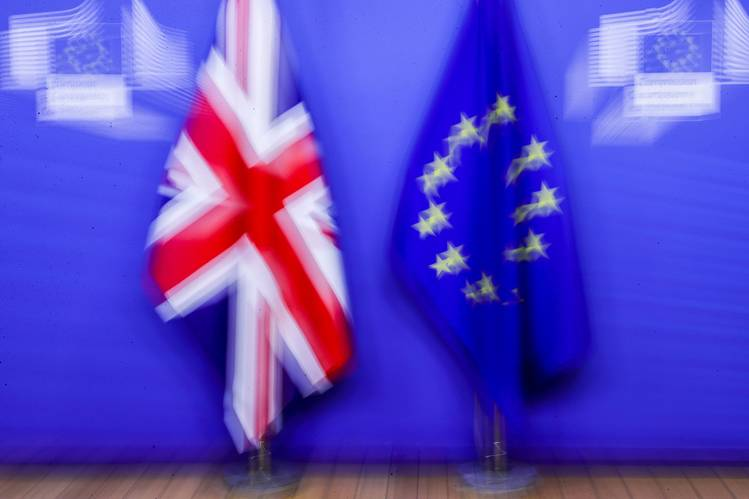 The final agreement between the United Kingdom and the European Union was held at the last minute