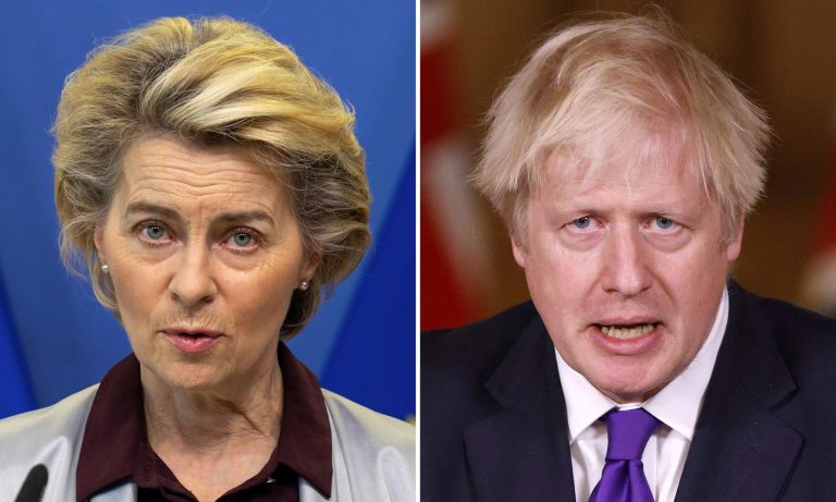 Von der Leyen will receive Johnson in Brussels on Wednesday to try to open negotiations after Brexit