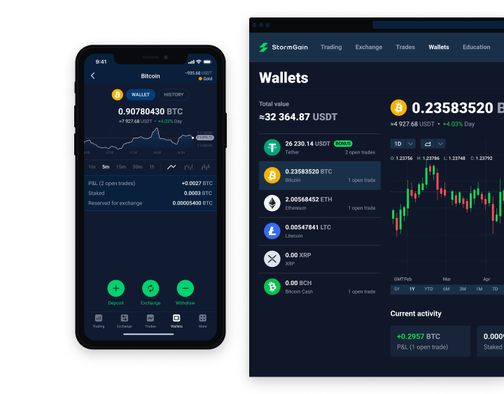 Windows runs blockchain apps and bitcoin wallets that are available on Android