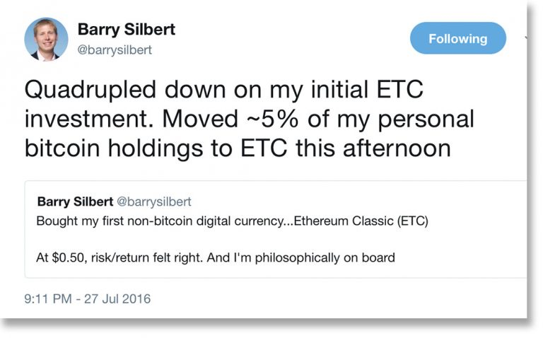 An early Ether investor sells all of his ETH and plans to buy a house from his parents