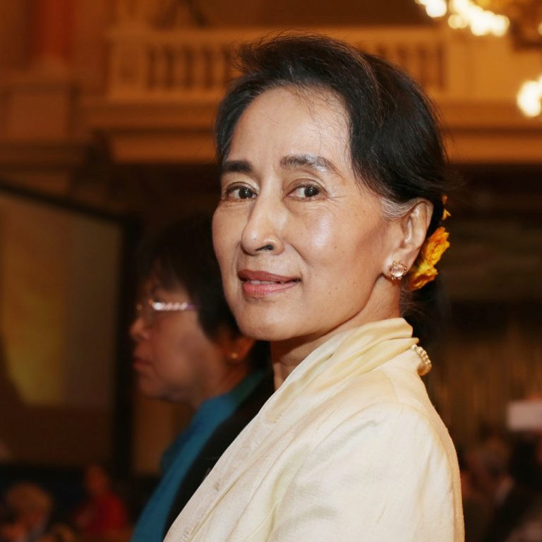 """Suu Kyi is appointed for a second term by the NLD's """"parallel"""" parliament in Burma"""