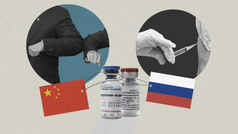 Vaccine diplomacy is mobilizing Russia and China as they form new alliances